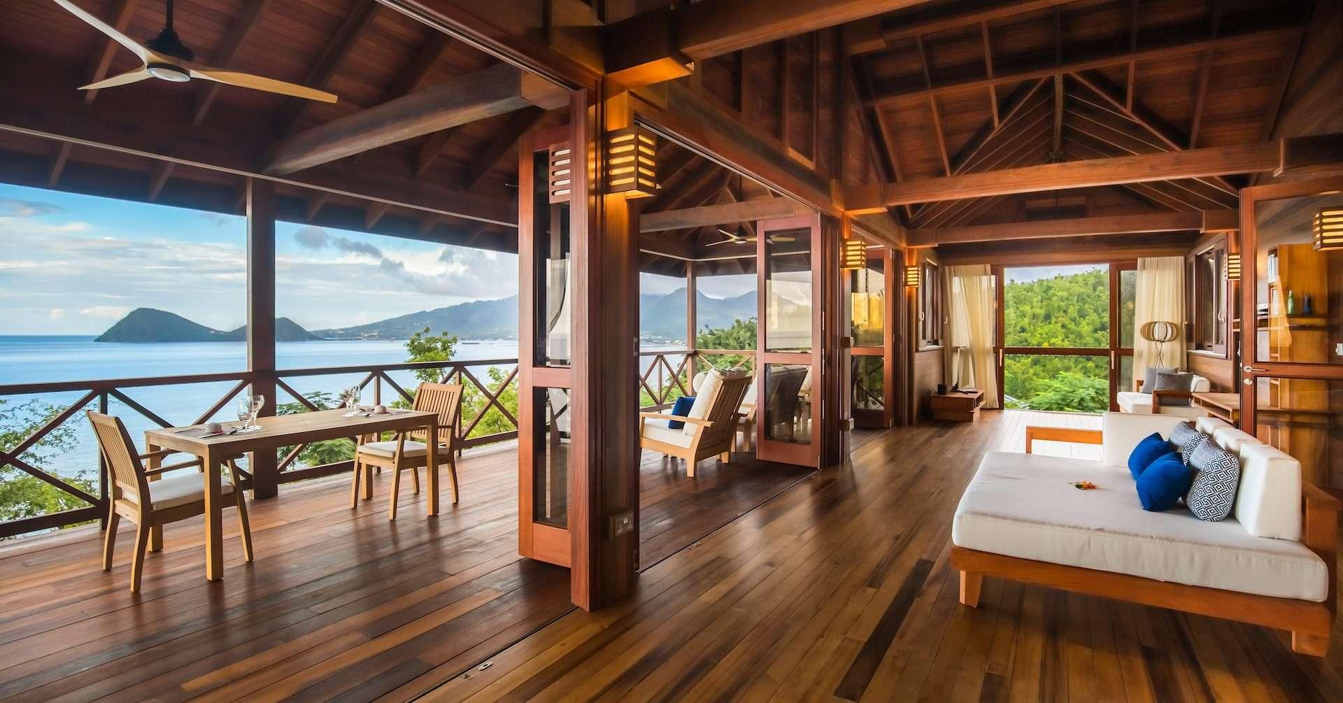 Luxury villa rentals caribbean - Dominica - Secret bay - No location 4 - Zabuco Honeymoon Villa III - Image 1/11