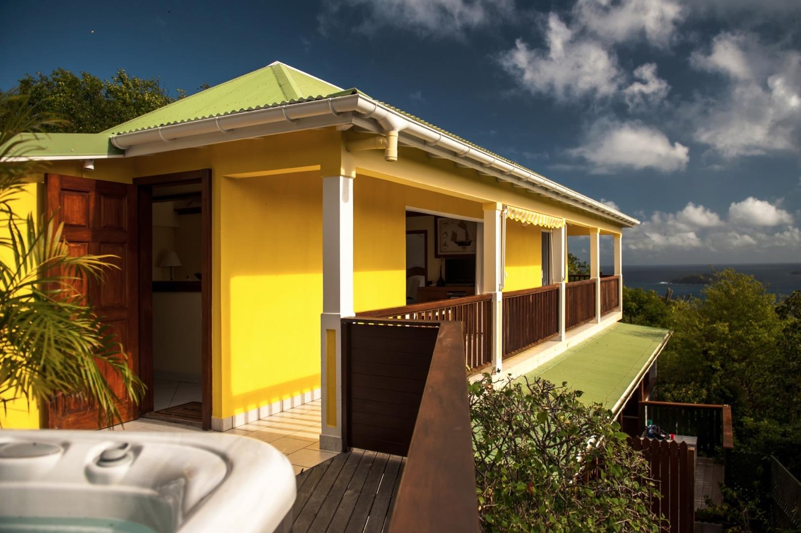 Luxury villa rentals caribbean - St barthelemy - Colombier - Natanya - Image 1/18