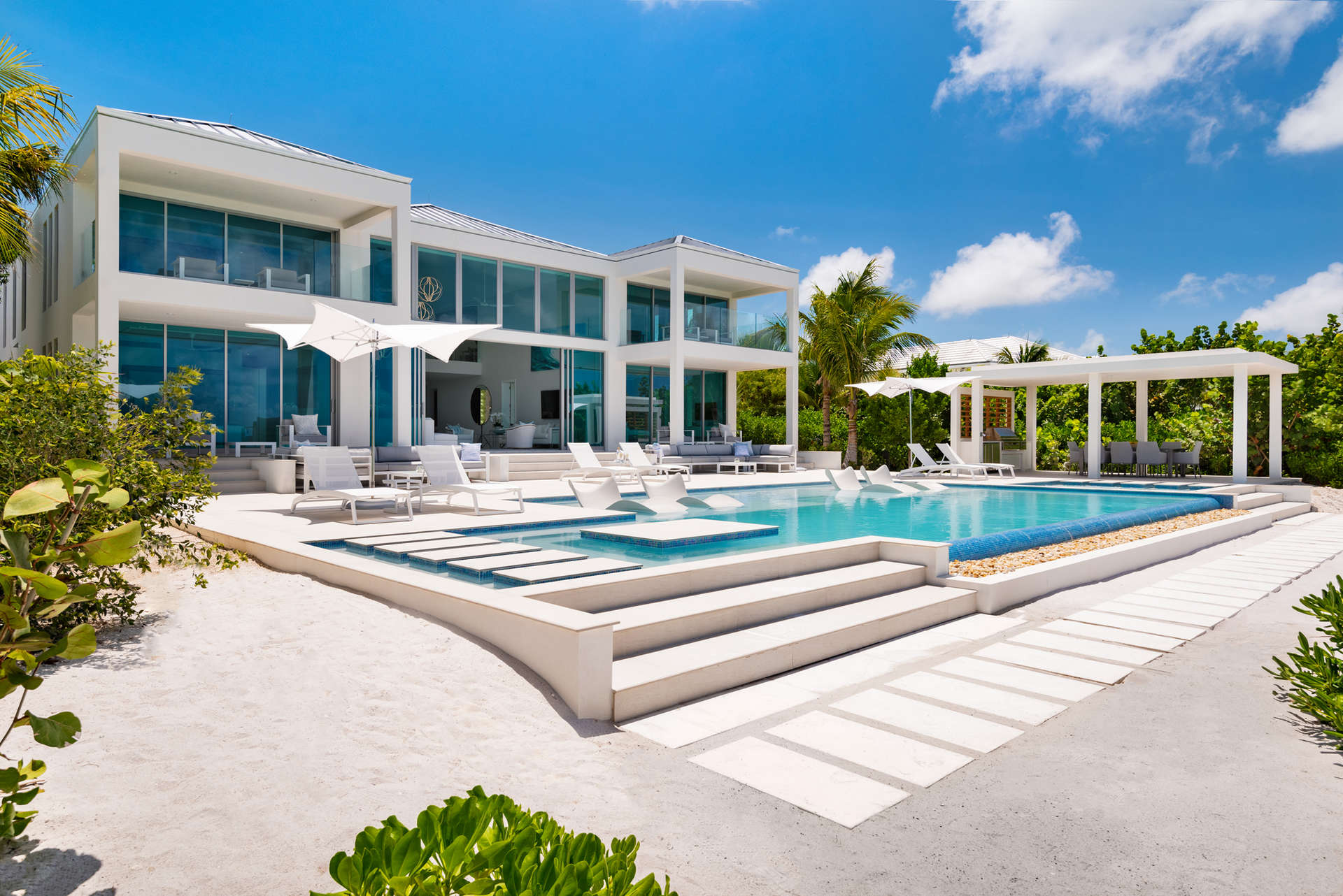 Luxury villa rentals caribbean - Turks and caicos - Providenciales - Grace bay - Seaclusion Villa - Image 1/30