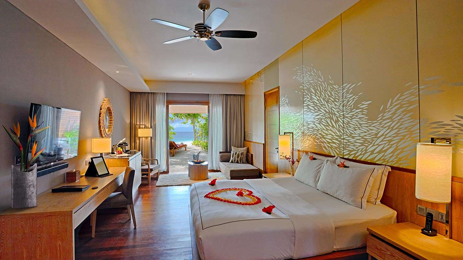 Luxury villa rentals asia - Maldives - Huvahandhoo - Lily beachresortandspa - Beach Suite with Pool - Image 1/5