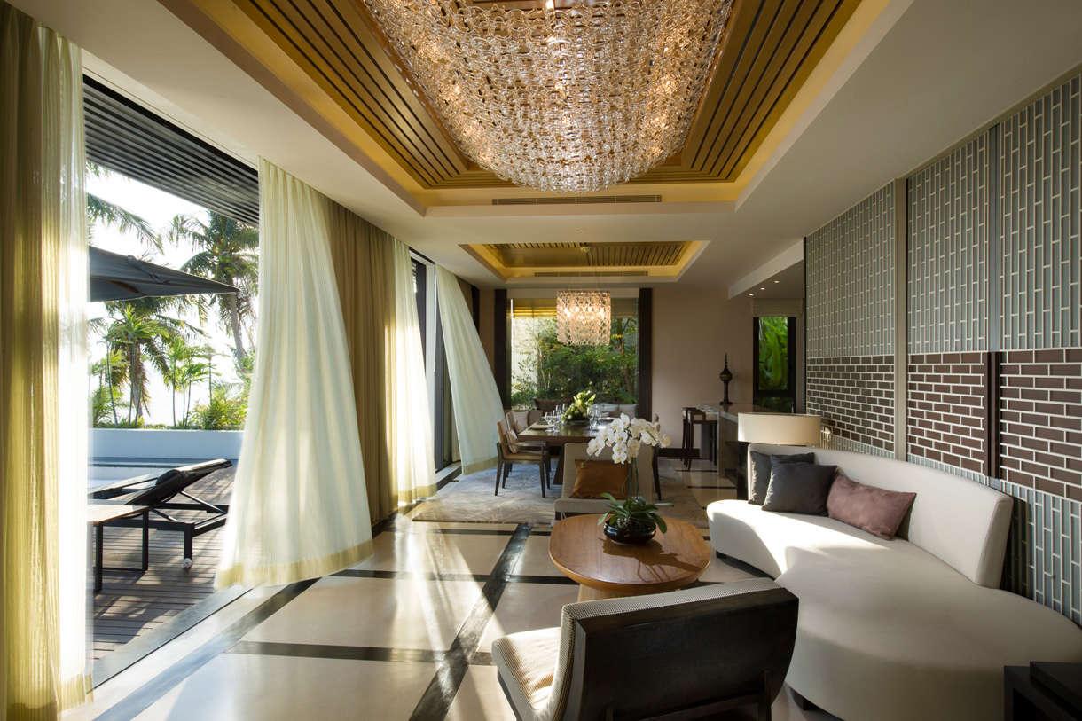 Luxury villa rentals asia - Thailand - Koh samui - Conrad koh samui - 1 BDM Ocean View Pool - Image 1/13