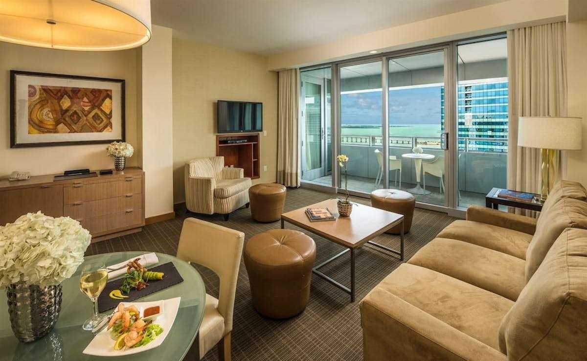 Luxury vacation rentals usa - Florida - Miami - Conrad miami - 1 BDM Bay View - Image 1/7