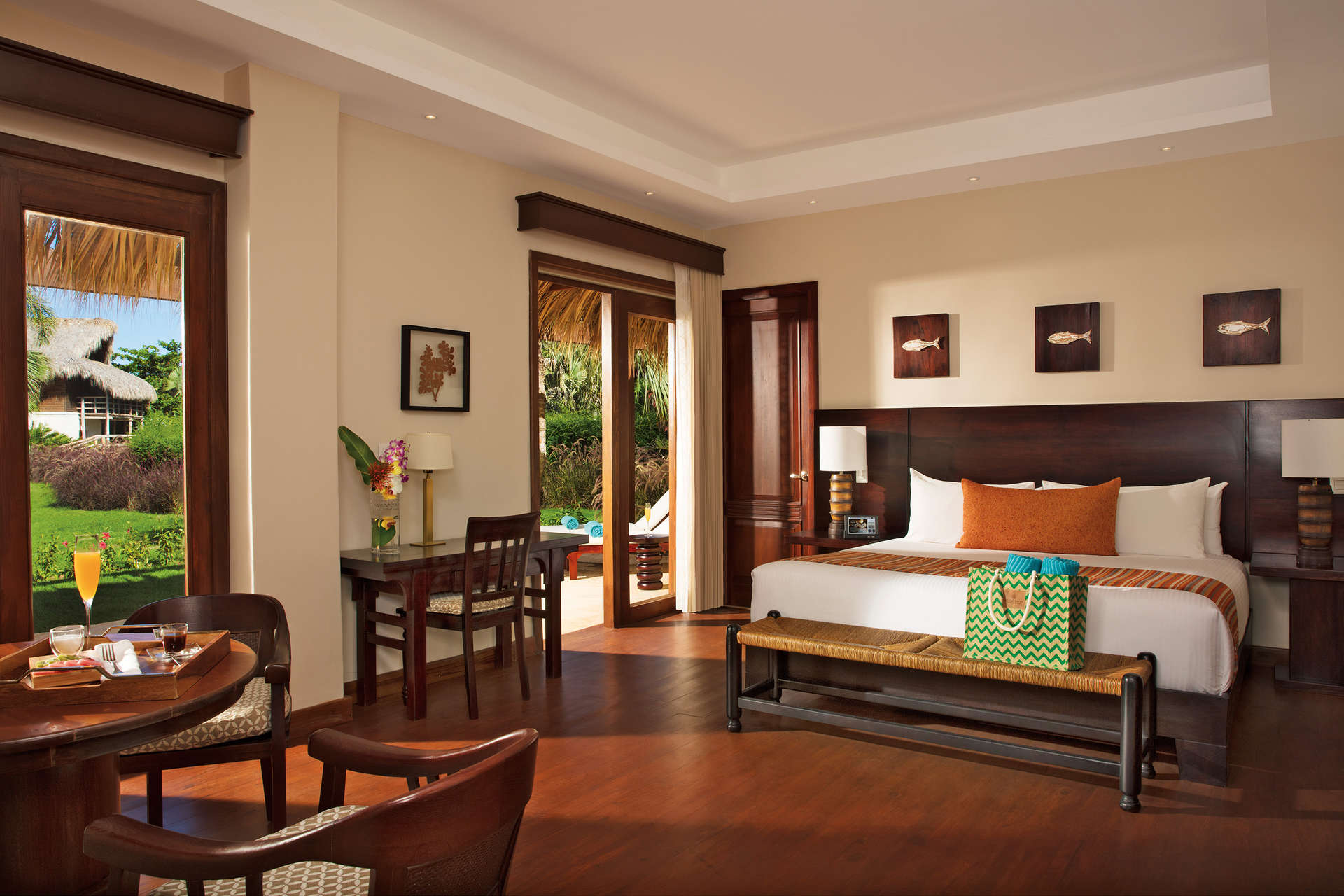 Luxury villa rentals caribbean - Dominican republic - Punta cana - Zoetry agua all inclusive resort - Garden View | Villa Dominicana - Image 1/17