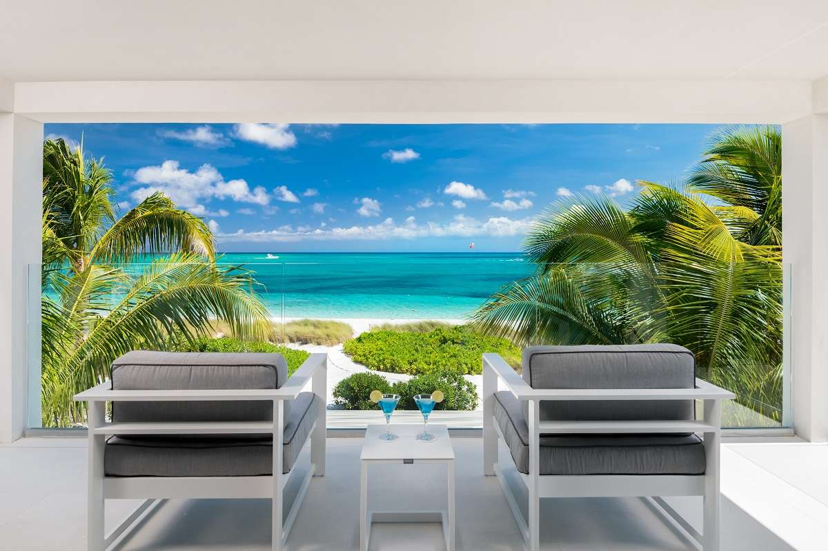Luxury villa rentals caribbean - Turks and caicos - Providenciales - Grace bay club - Seascape Home - Image 1/5