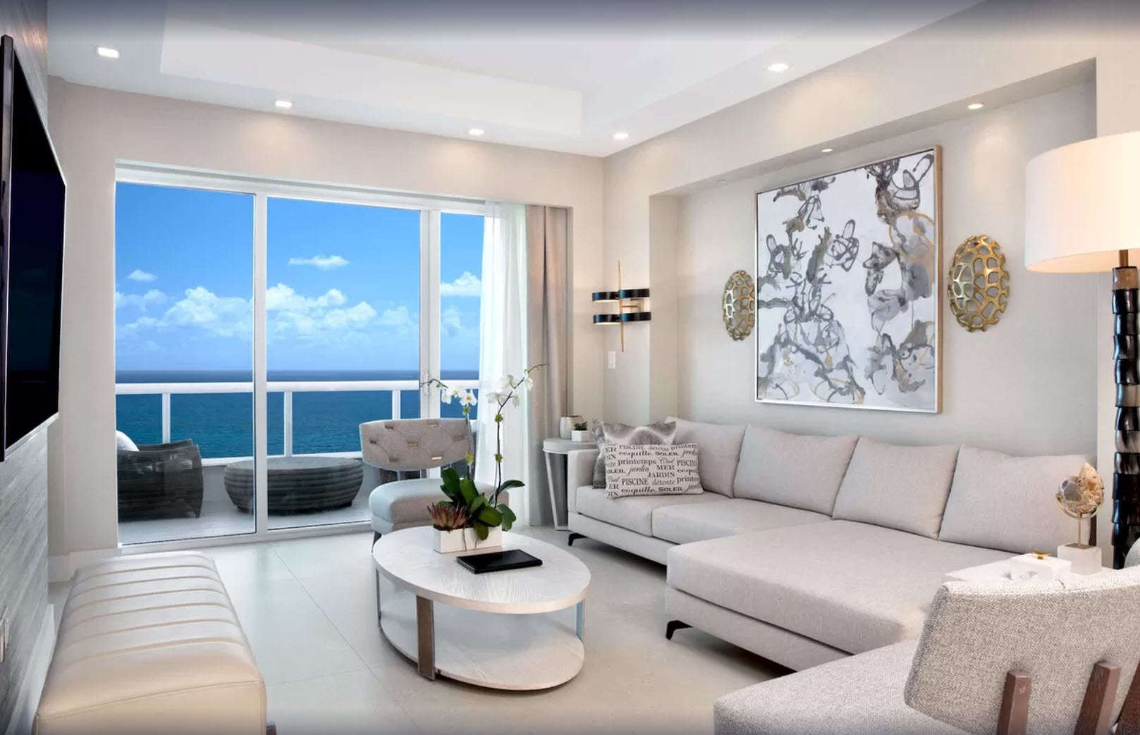 Luxury vacation rentals usa - Florida - Fort lauderdale - Conrad fort lauderdale beach - 2 BDM Oceanfront Penthouse - Image 1/10
