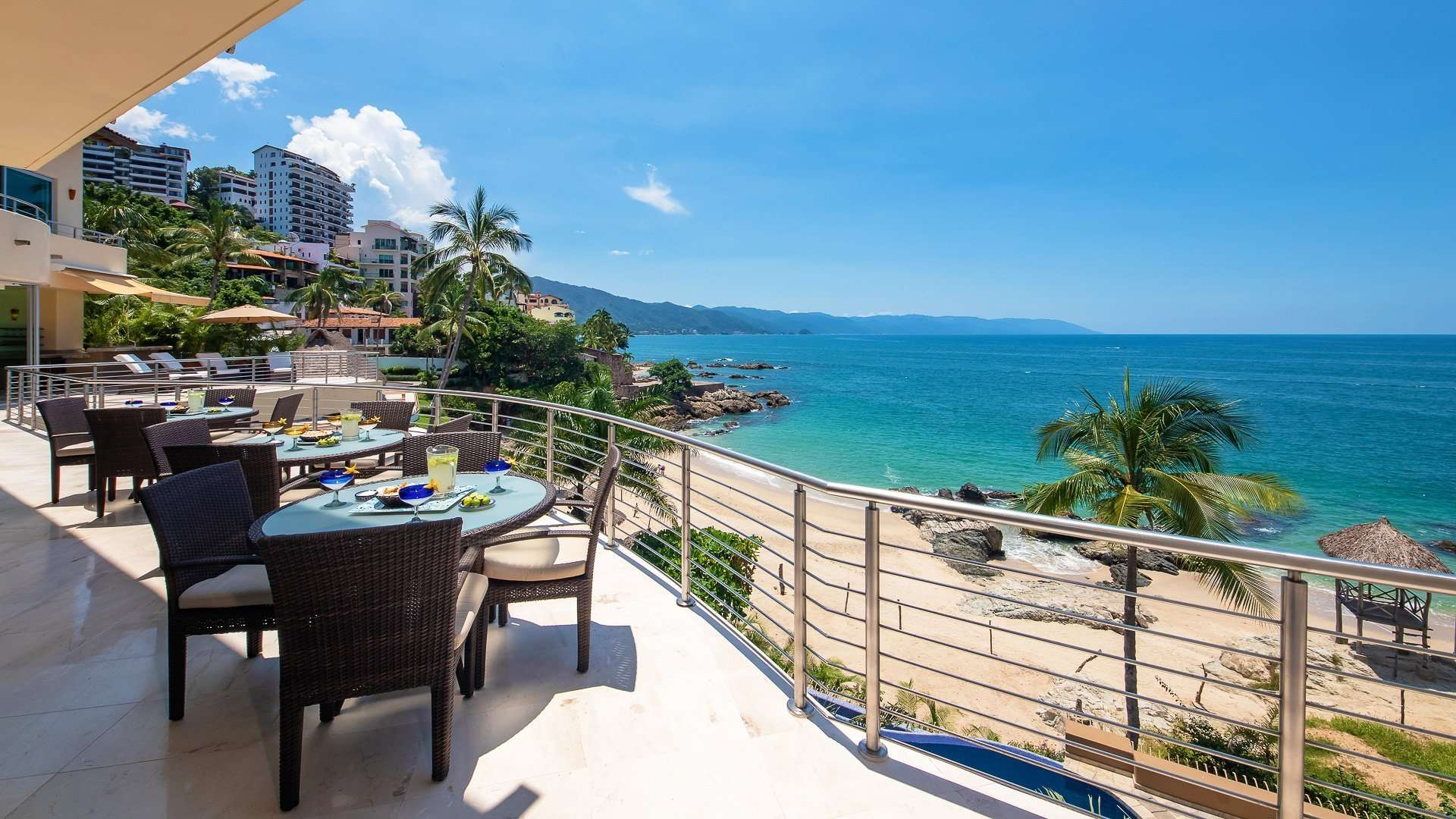 Luxury vacation rentals mexico - Puerto vallarta - Conchas chinas - No location 4 - Villa Montecito - Image 1/29
