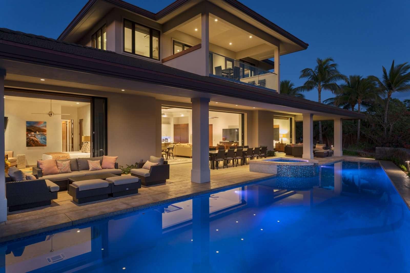 Luxury vacation rentals usa - Hawaii - Big island - Waikoloa beach - Waikoloa Oasis - Image 1/28