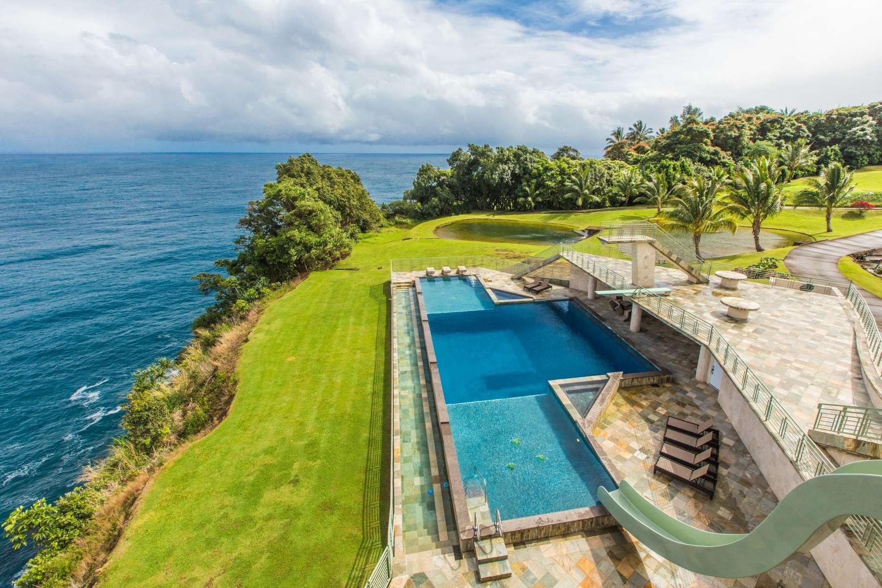 Luxury vacation rentals usa - Hawaii - Big island - Ninole - Water Falling Villa - Image 1/42