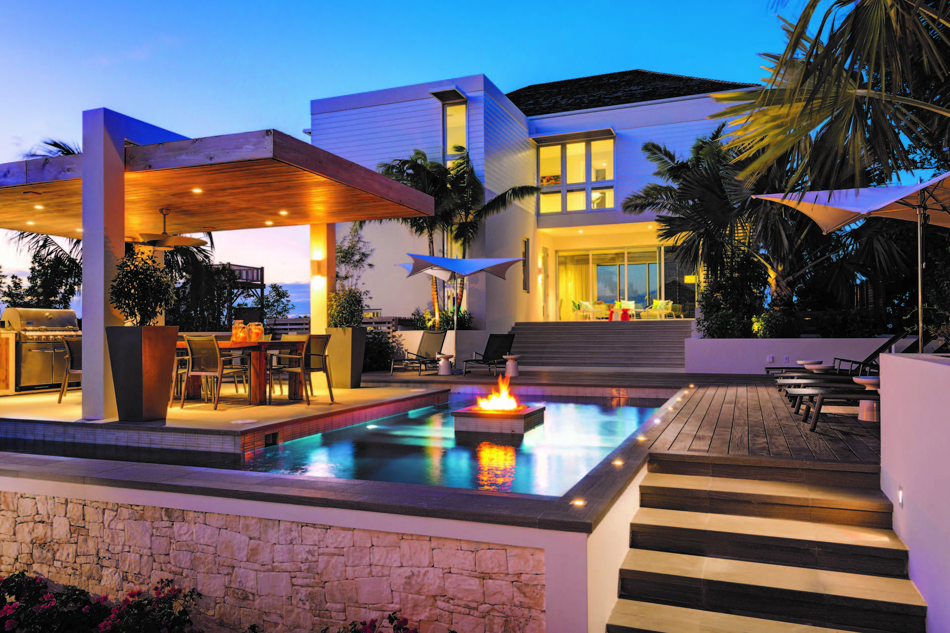 Luxury villa rentals caribbean - Turks and caicos - Providenciales - Grace bay - The Dunes | Turtle Inlet - Image 1/6