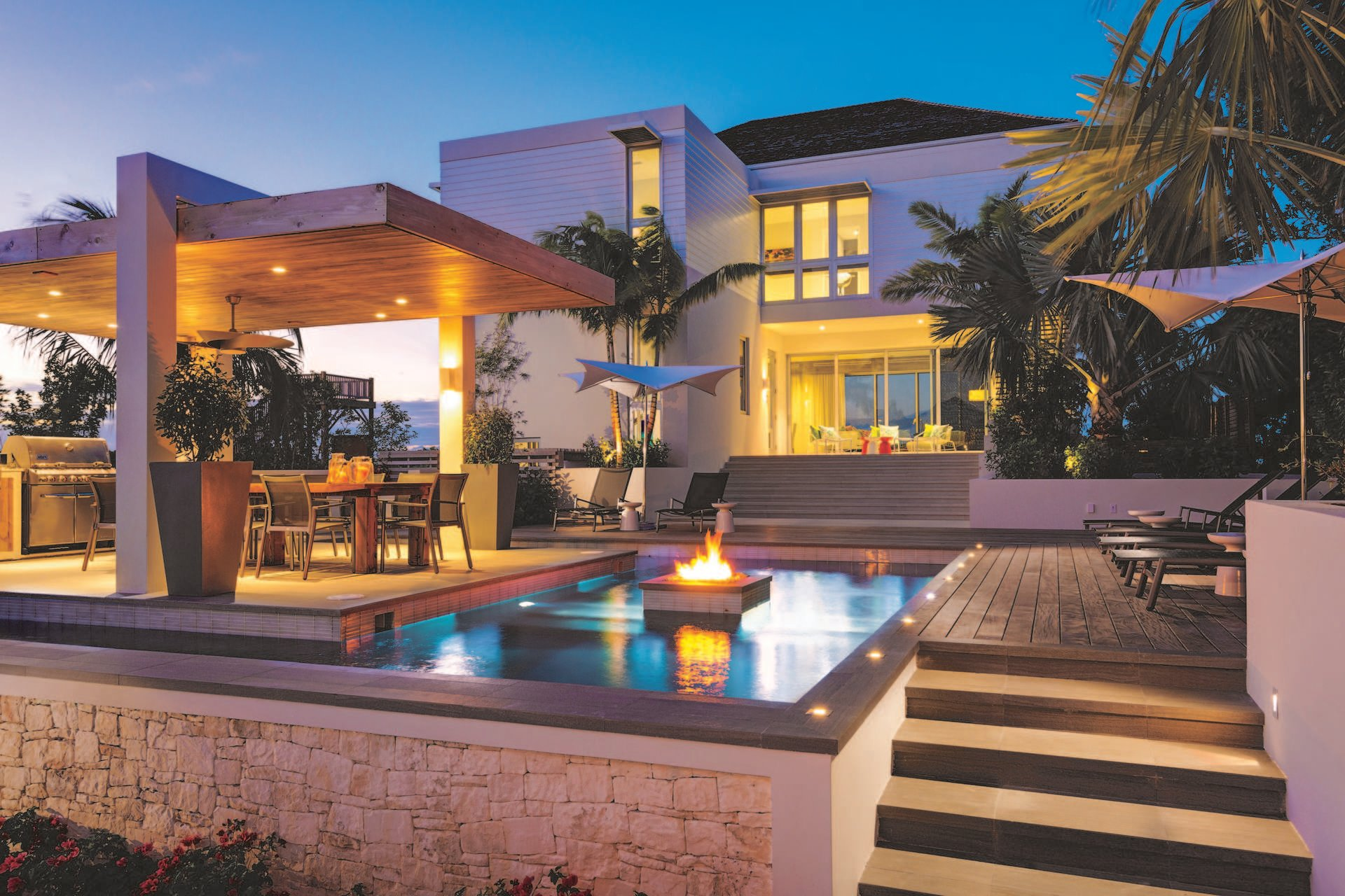 Luxury villa rentals caribbean - Turks and caicos - Providenciales - Grace bay club - The Dunes | Turtle Inlet - Image 1/6