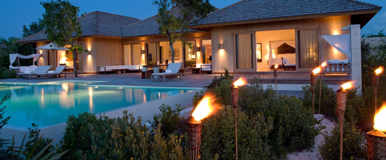 Luxury villa rentals caribbean - Turks and caicos - Parrot cay - Como parrot cay - Island Villa - Image 1/8