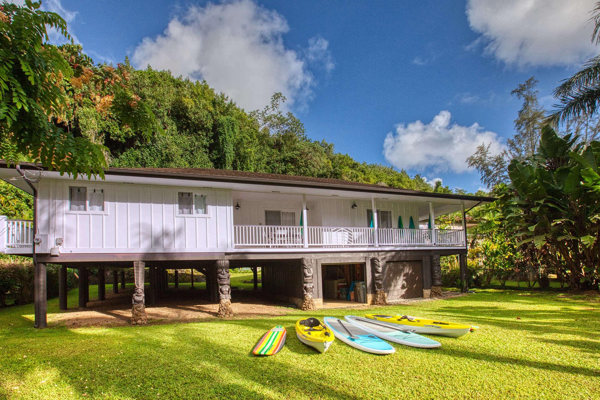 - Kalihiwai Beach House - Image 1/18