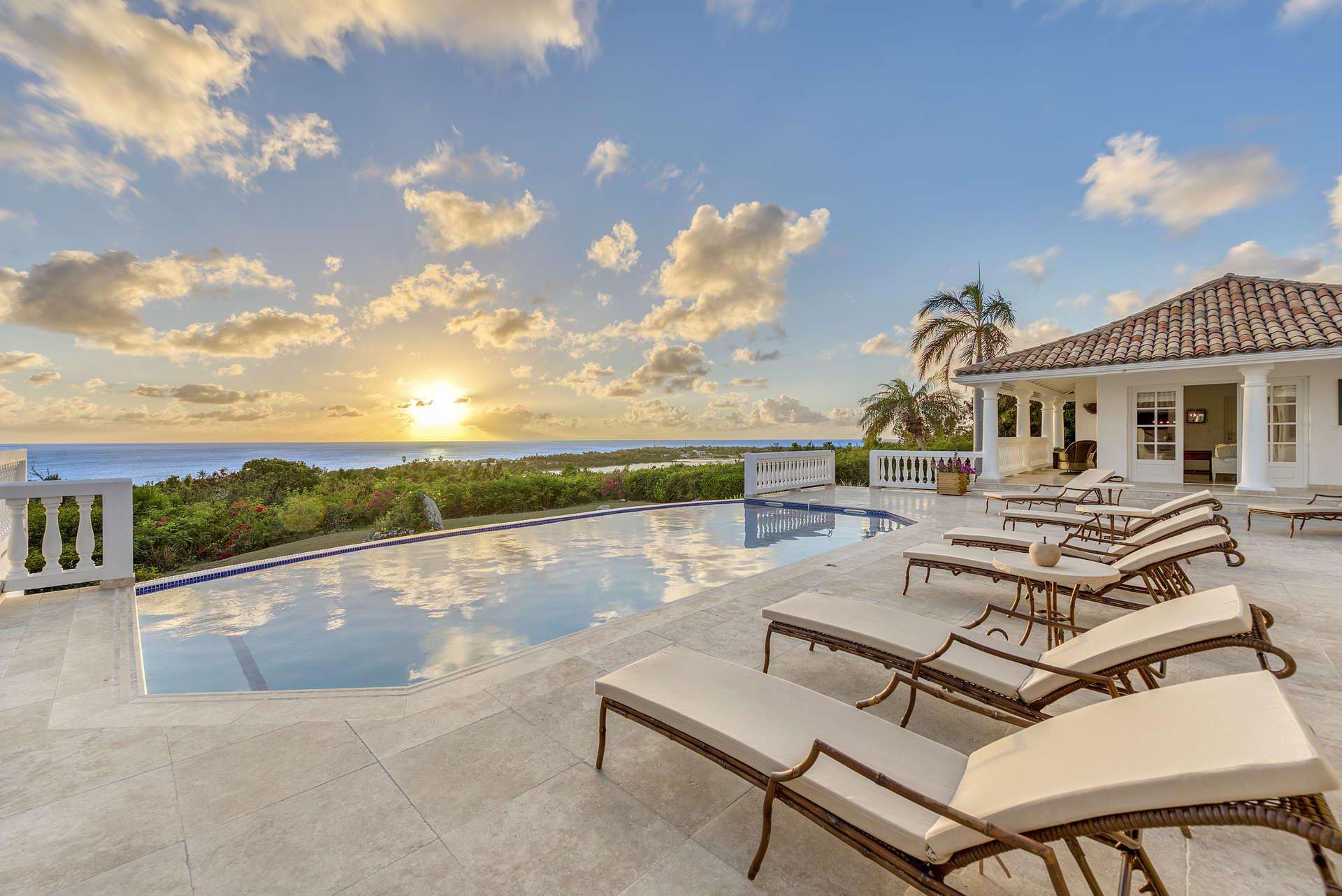 Luxury villa rentals caribbean - St martin - Saint martin french - Les terres basses - Mer Soleil - Image 1/28