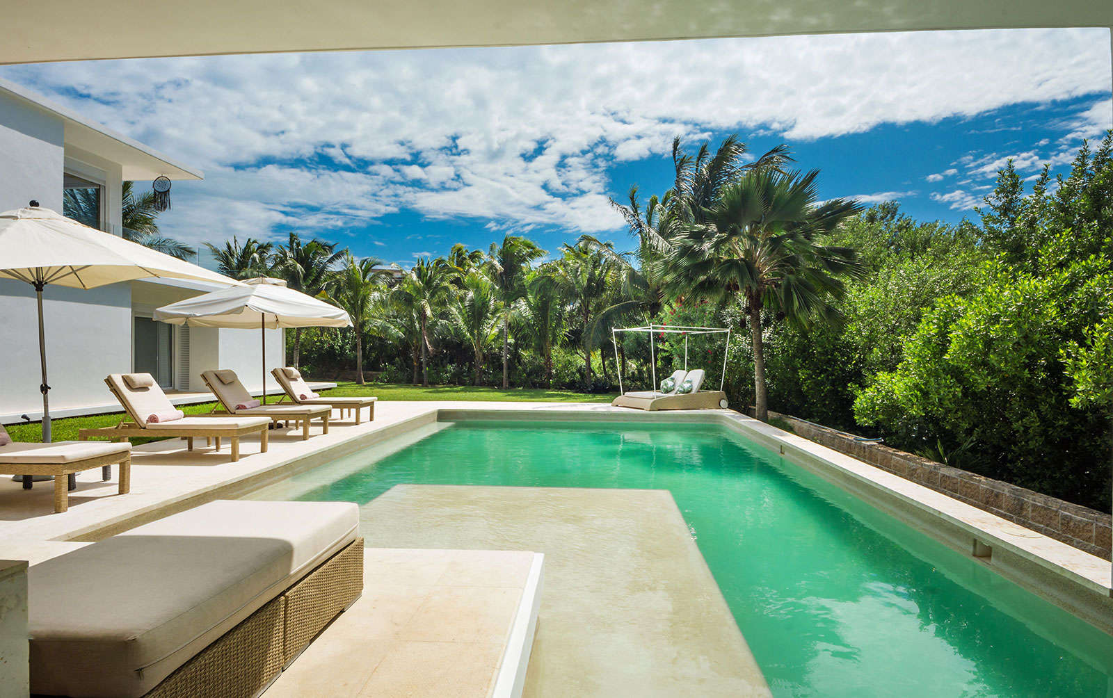 Luxury vacation rentals mexico - Riviera maya - Cancun - Playa mujeres - Casa Marazul - Image 1/34