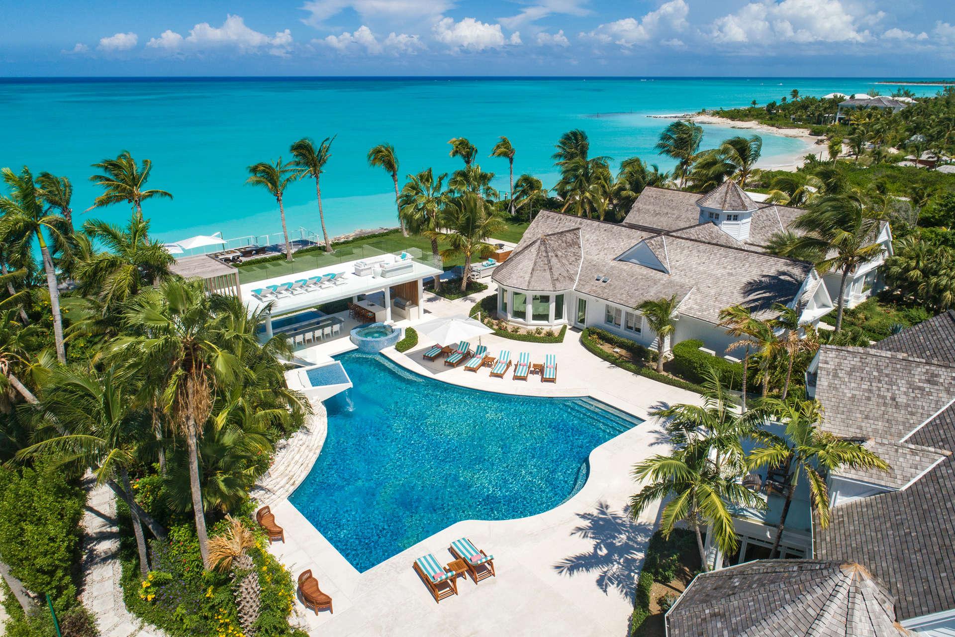 Luxury villa rentals caribbean - Turks and caicos - Providenciales - Grace bay - Salacia Villa - Image 1/41