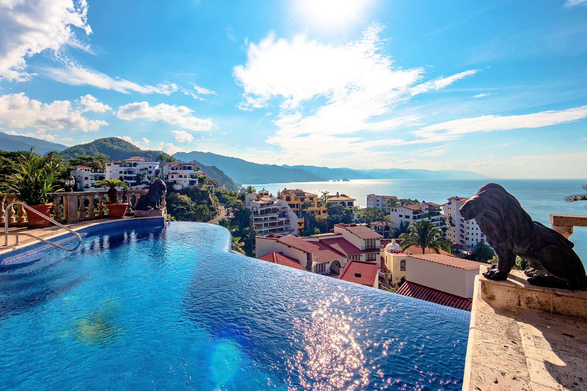 Luxury vacation rentals mexico - Puerto vallarta - Conchas chinas - No location 4 - Villa Jazmin - Image 1/41