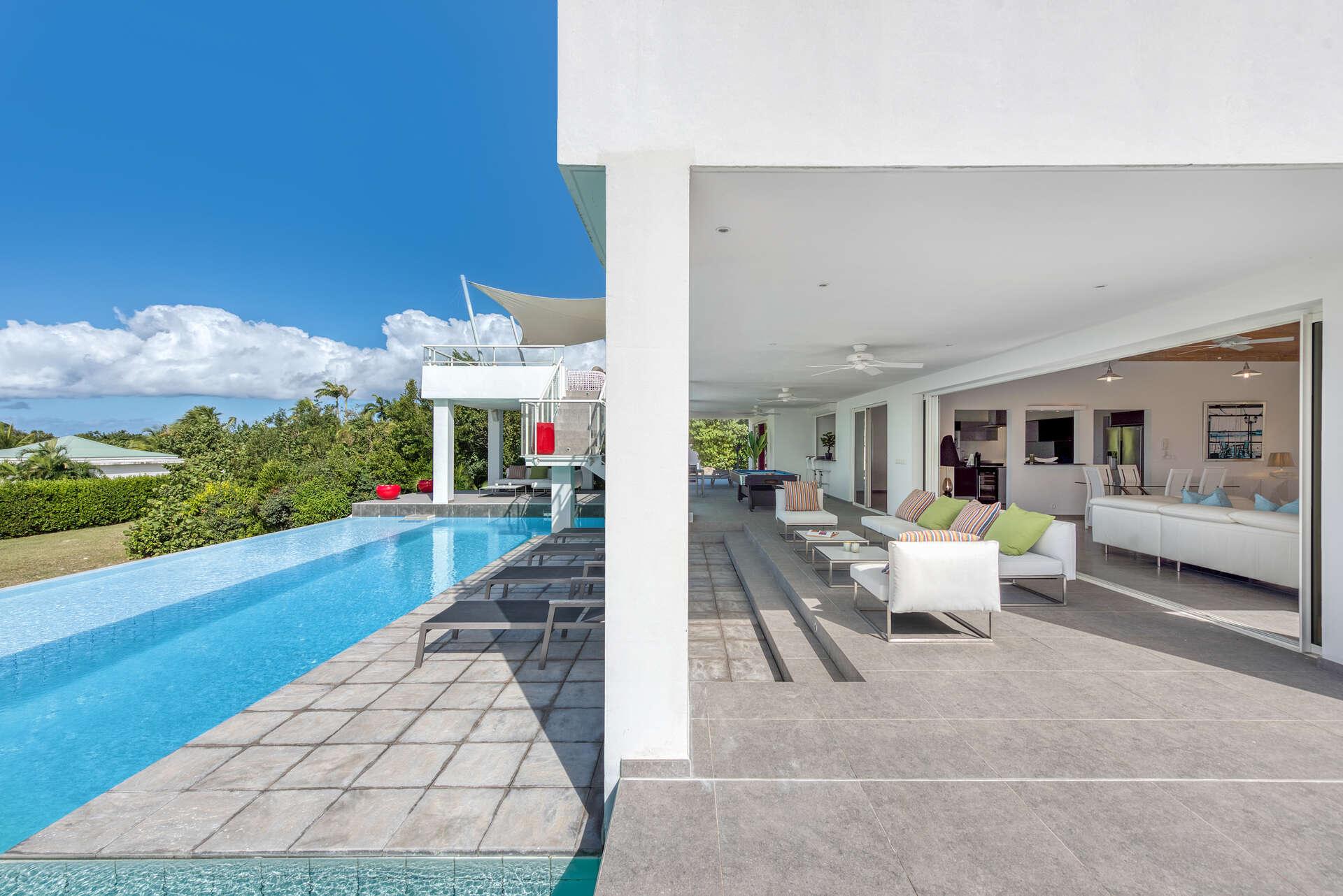 Luxury villa rentals caribbean - St martin - Saint martin french - Les terres basses - Grand Palms - Image 1/25