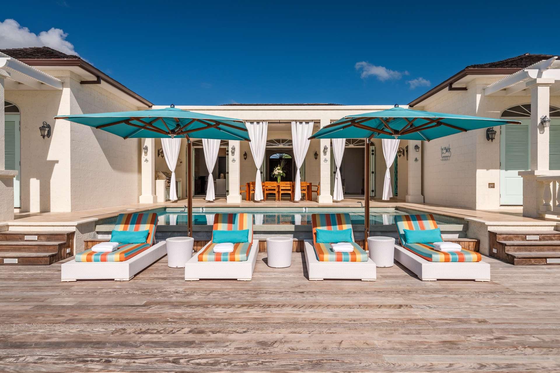 Luxury villa rentals caribbean - Turks and caicos - Providenciales - Taylor bay - Beach House Villa - Image 1/22