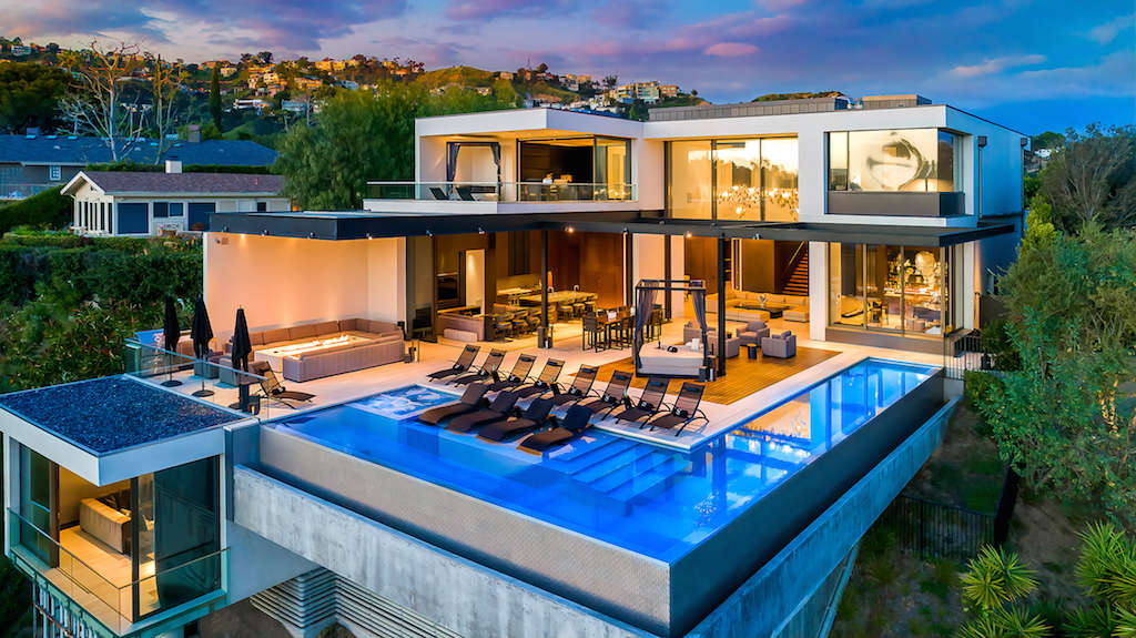 Strat House Hollywood Hills California Rental Escapes