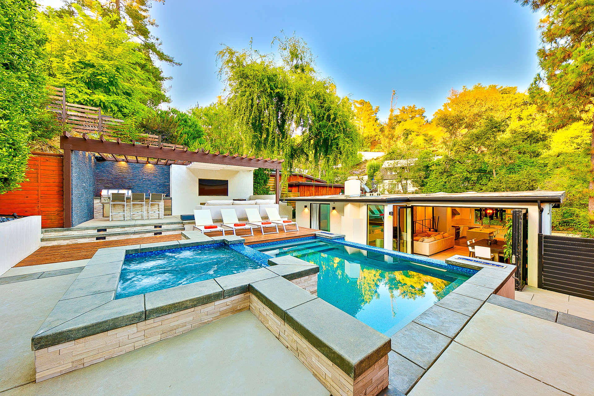 Luxury vacation rentals usa - California - Los angeles california - Hollywood hills ca - Canyon Oasis - Image 1/33