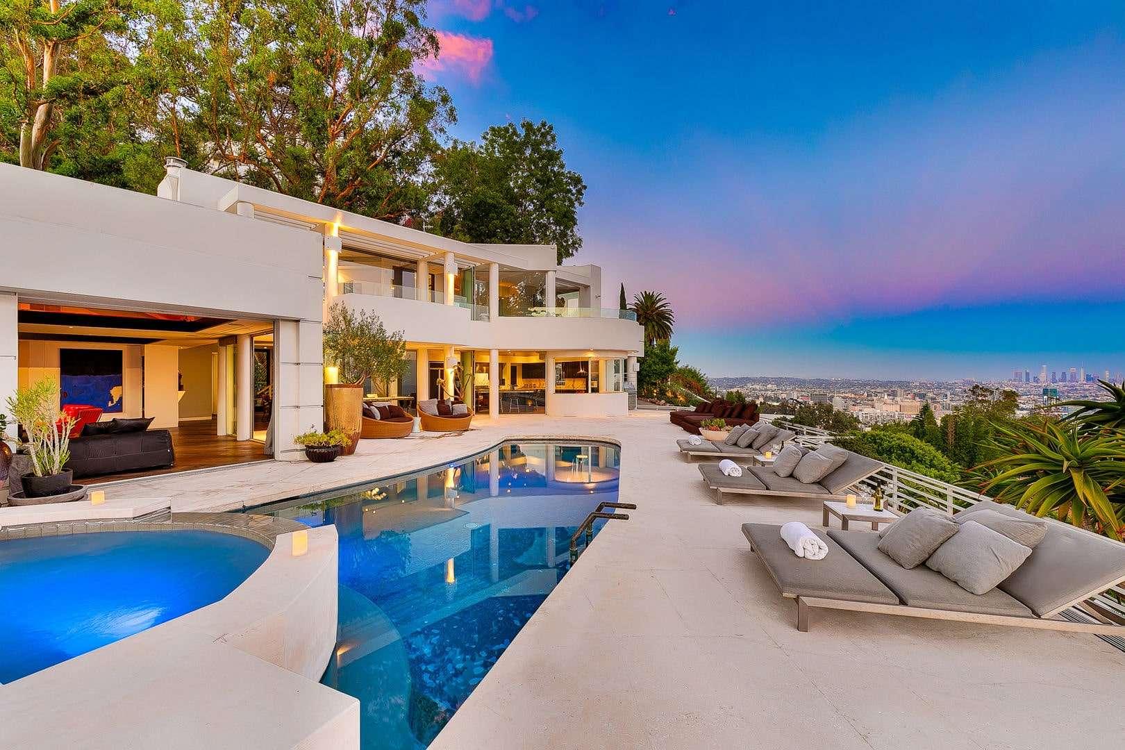 Luxury vacation rentals usa - California - Los angeles california - Hollywood hills ca - La La Land Estate - Image 1/46