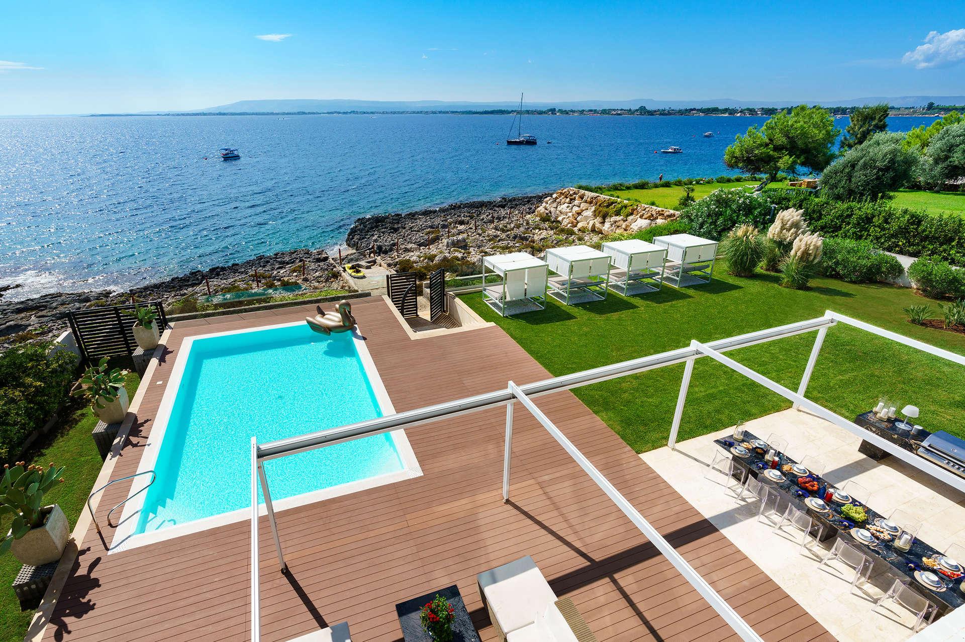 Luxury vacation rentals europe - Italy - Sicily - Siracusa - Villa Angelina - Image 1/24