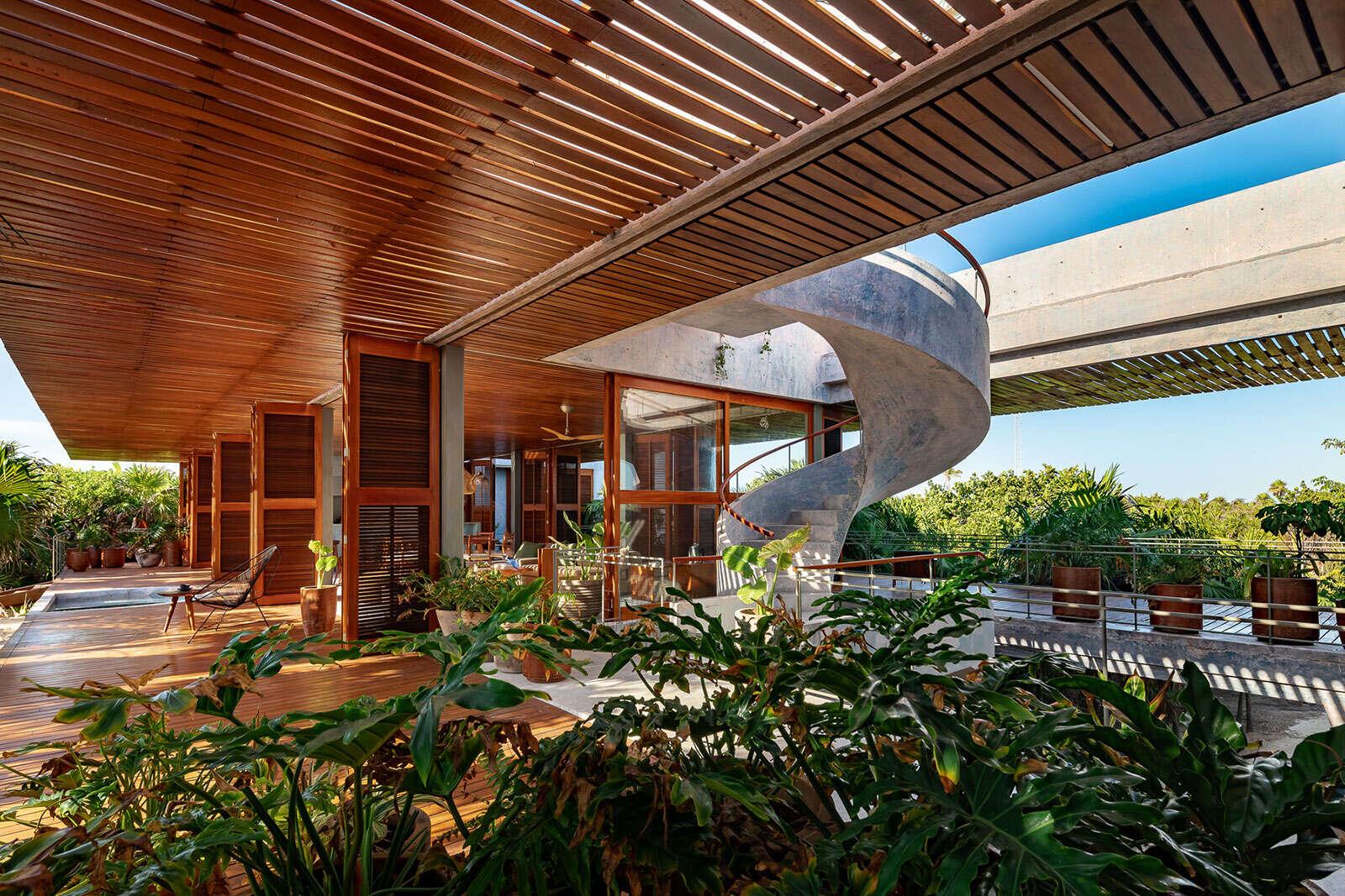 Luxury vacation rentals mexico - Riviera maya - Sian ka an - Casa Bautista - Image 1/17
