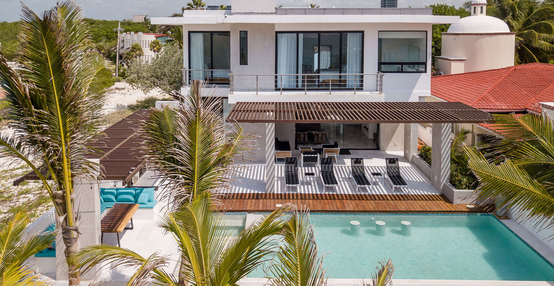 Luxury vacation rentals mexico - Riviera maya - Playa paraiso - No location 4 - Villa Carrera - Image 1/39