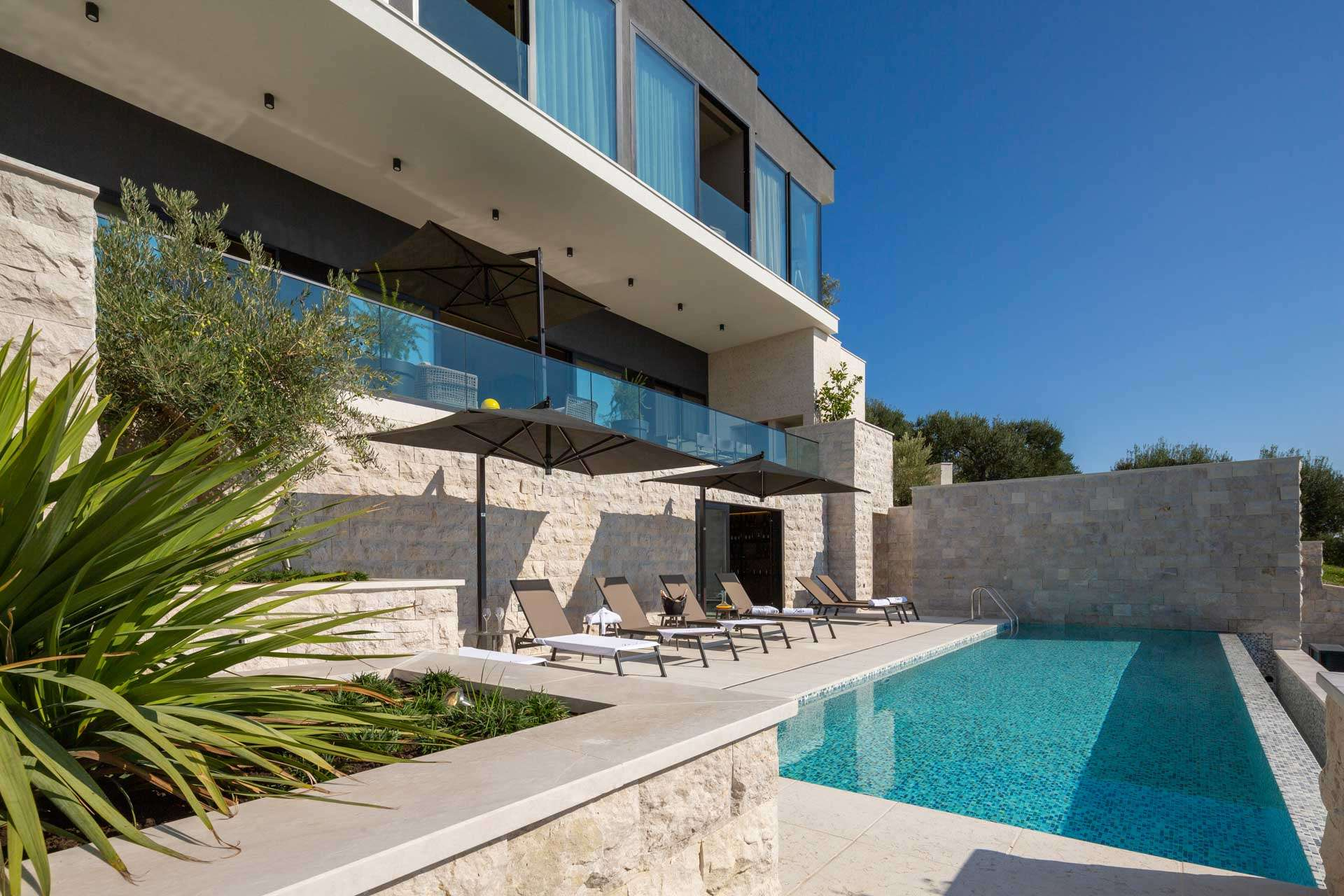 Luxury vacation rentals europe - Croatia - Dalmatia - Orasac - Frida's Place - Image 1/39