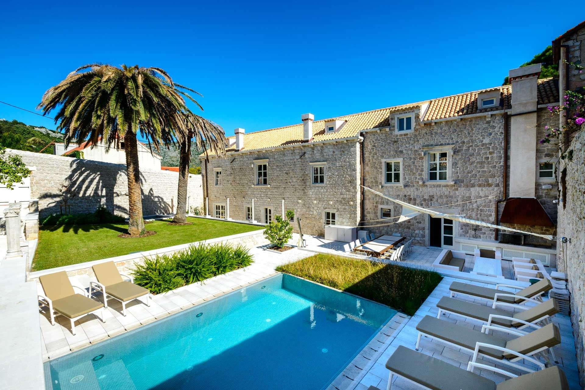 Luxury vacation rentals europe - Croatia - Dalmatia - Zaton - Exclusive Castello - Image 1/72