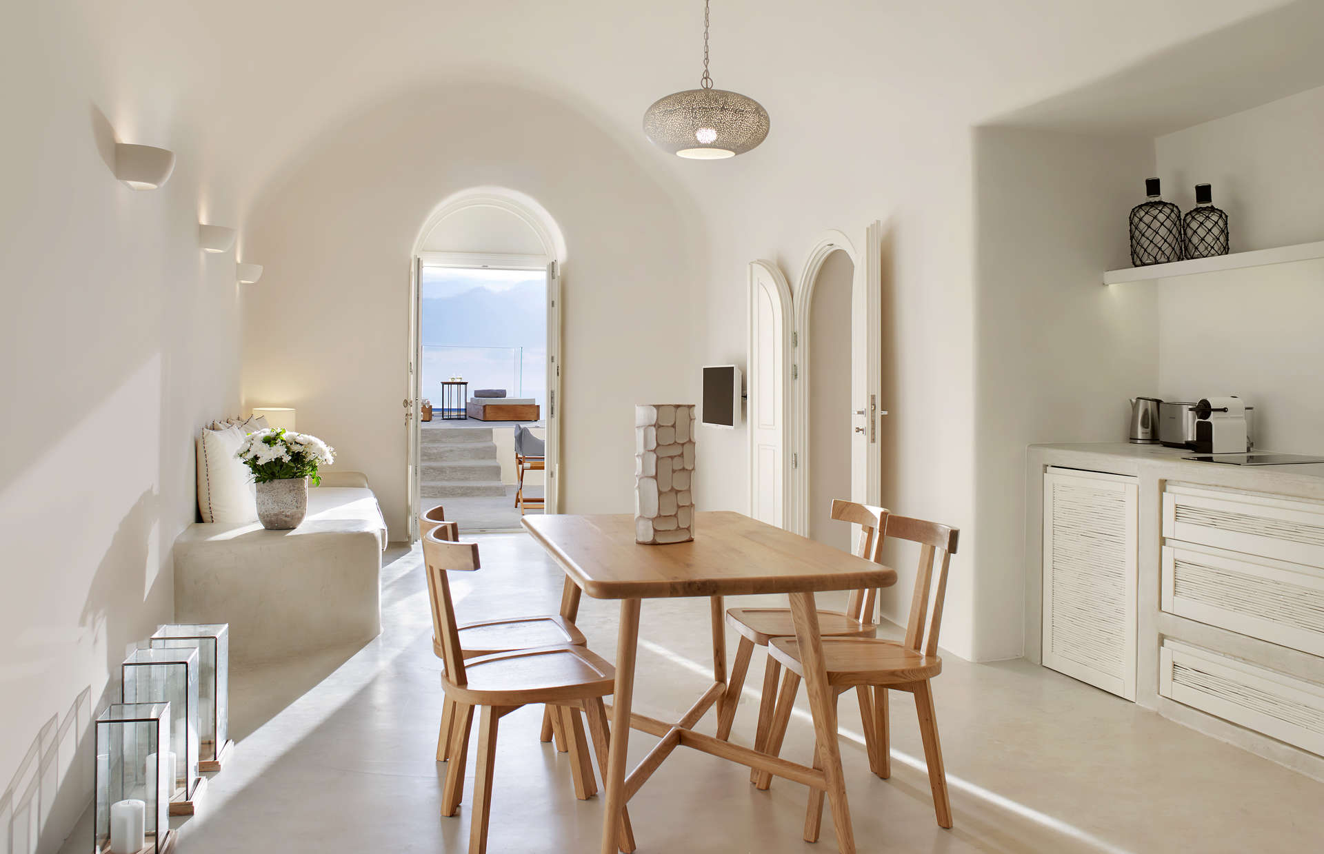 Luxury vacation rentals europe - Greece - Santorini - Fira - Villa Ioli - Image 1/10