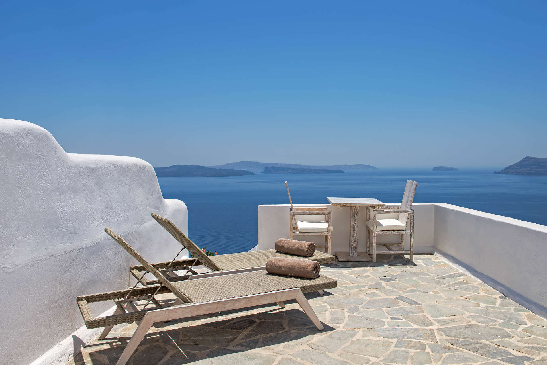Luxury vacation rentals europe - Greece - Santorini - Oia - The Ivory Suite - Image 1/7