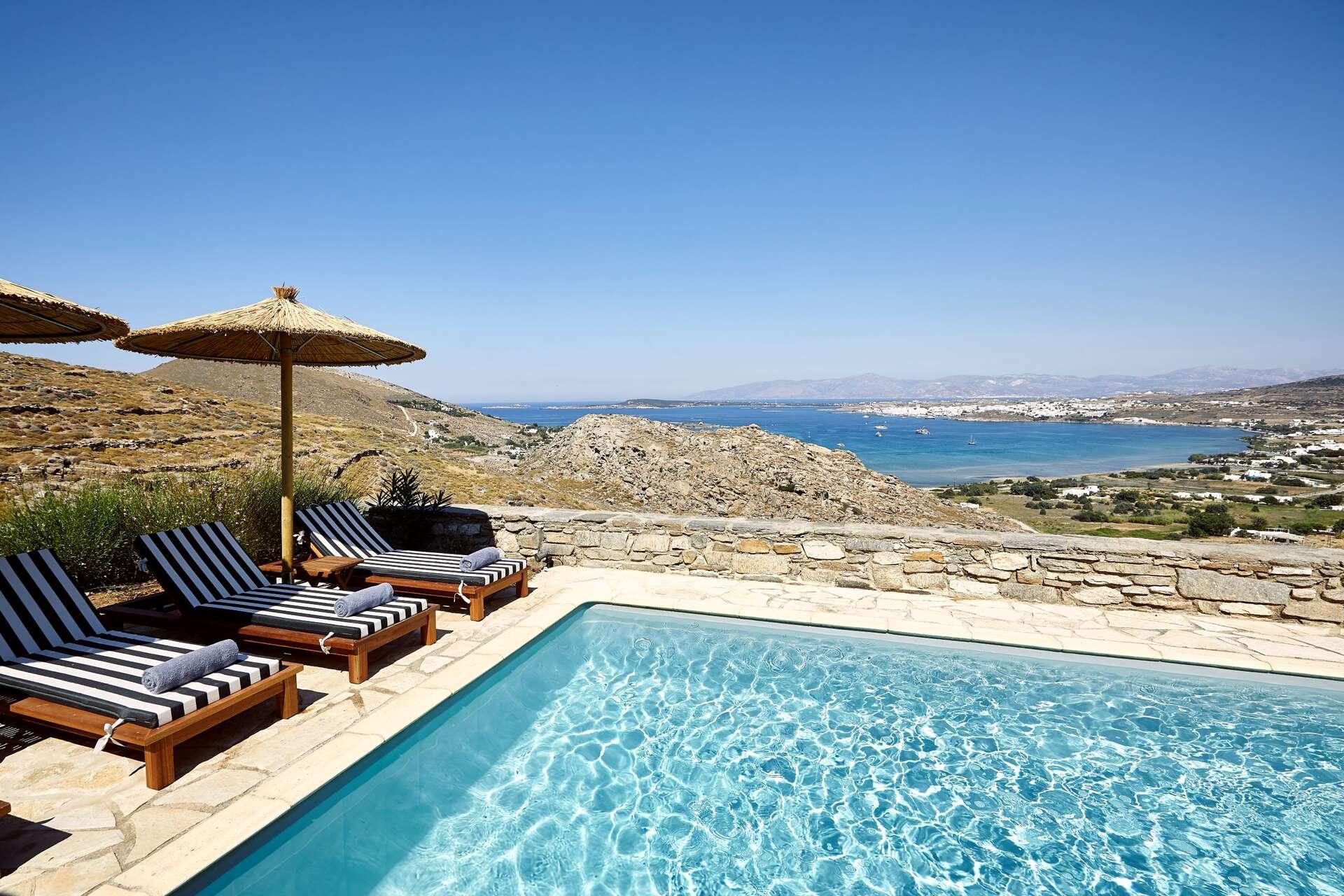 Luxury vacation rentals europe - Greece - Par os - Kolympithres - Indigo Villa - Image 1/12