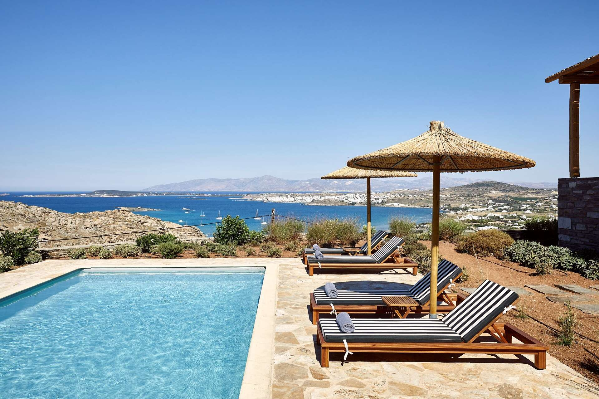 Luxury vacation rentals europe - Greece - Par os - Kolympithres - Turquoise 2 BDM - Image 1/12