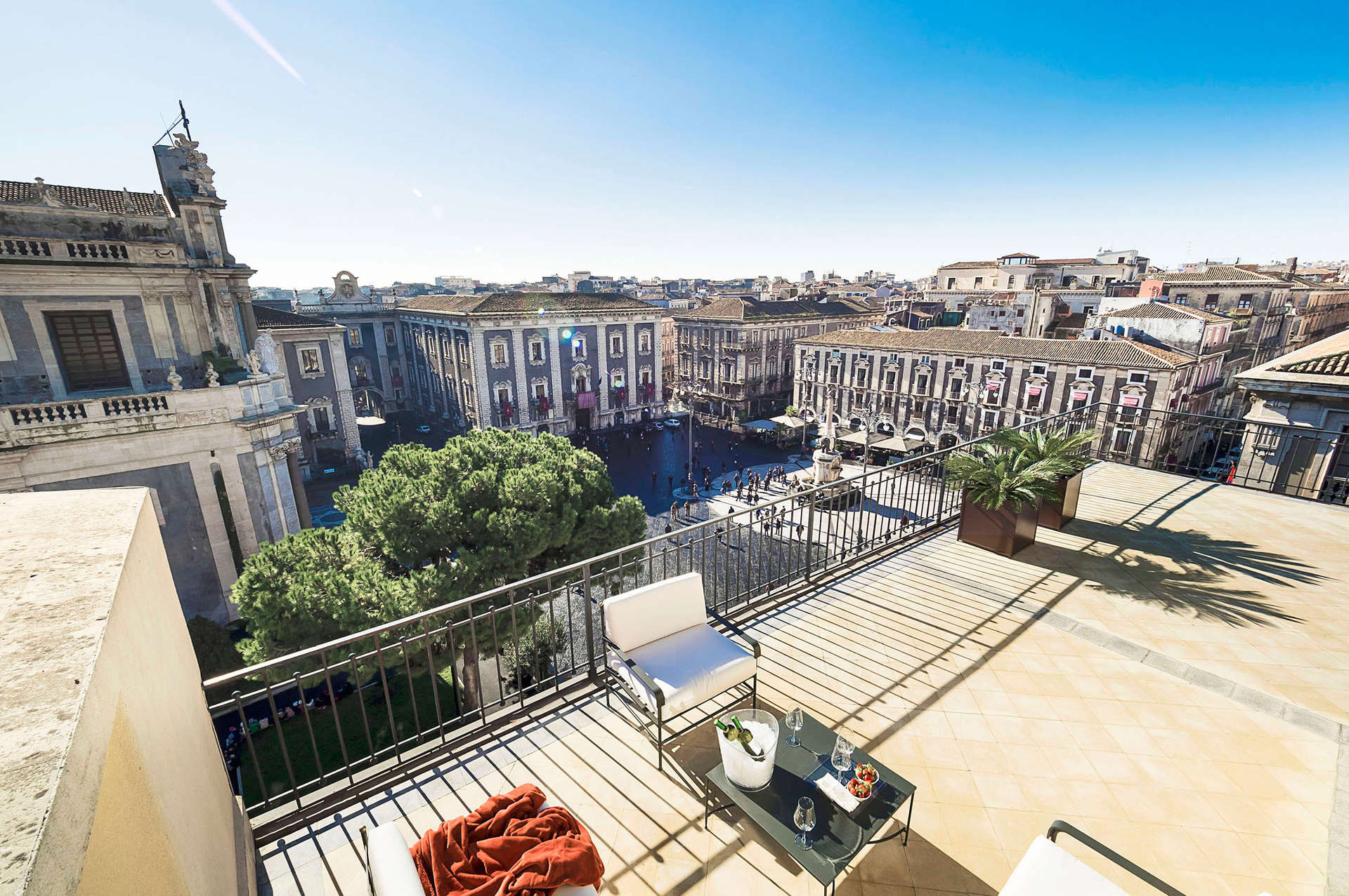 Luxury vacation rentals europe - Italy - Sicily - Catania - Penthouse Duomo - Image 1/31