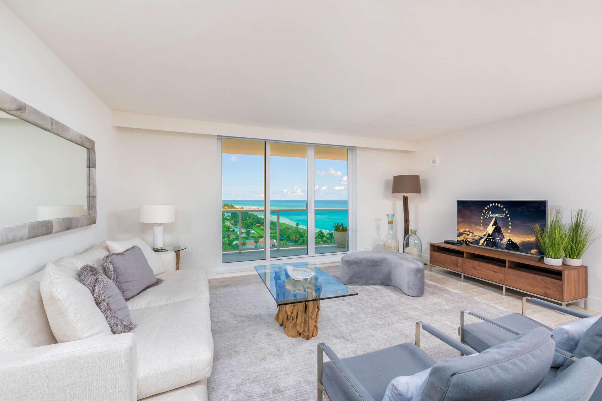 Luxury vacation rentals usa - Florida - Miami beach - Eco hotel southbeach - #1019 | 3 BDM Oceanfront - Image 1/23