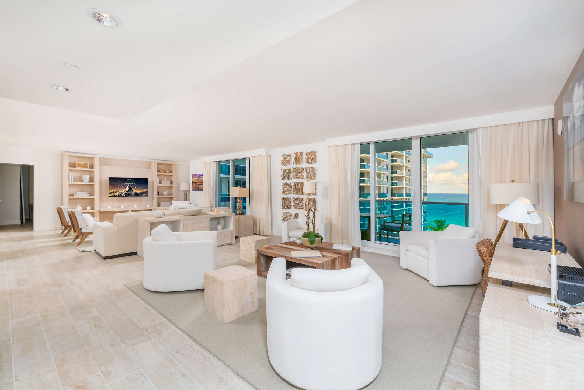 Luxury vacation rentals usa - Florida - Miami beach - Eco hotel southbeach - #1040 | 3 BDM Oceanfront - Image 1/30
