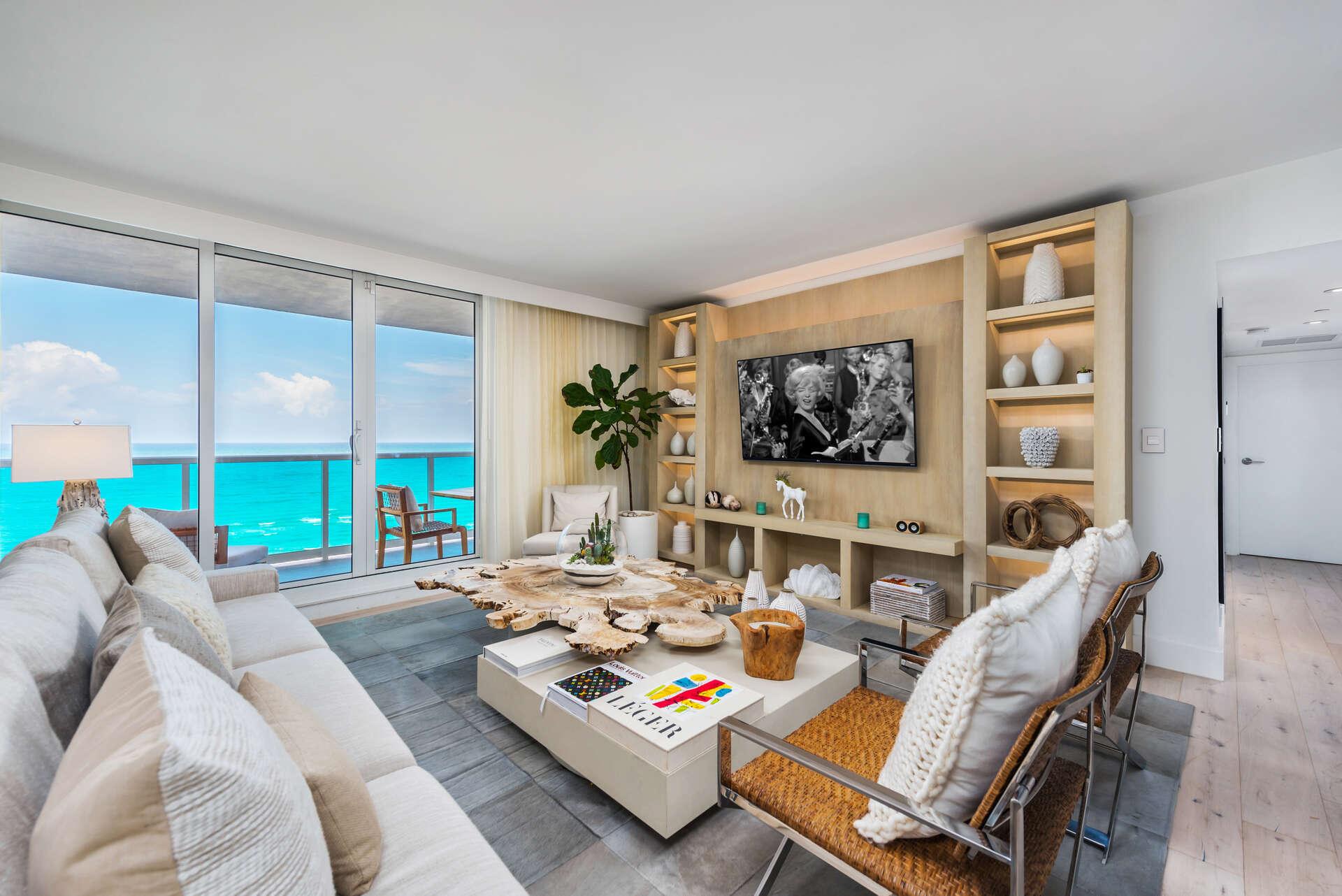 Luxury vacation rentals usa - Florida - Miami beach - Eco hotel southbeach - #1440 | 3 BDM Oceanfront - Image 1/31