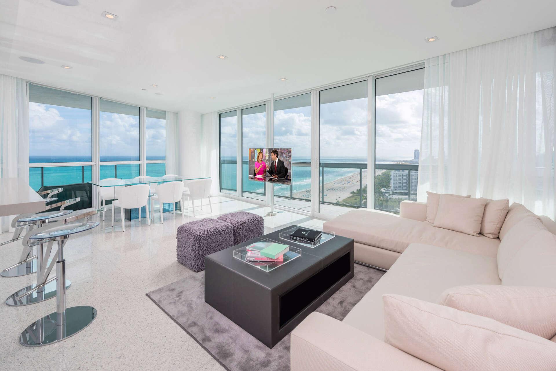 Luxury vacation rentals usa - Florida - Miami beach - The setai miami beach - #3208 | 2 BDM Oceanfront - Image 1/17