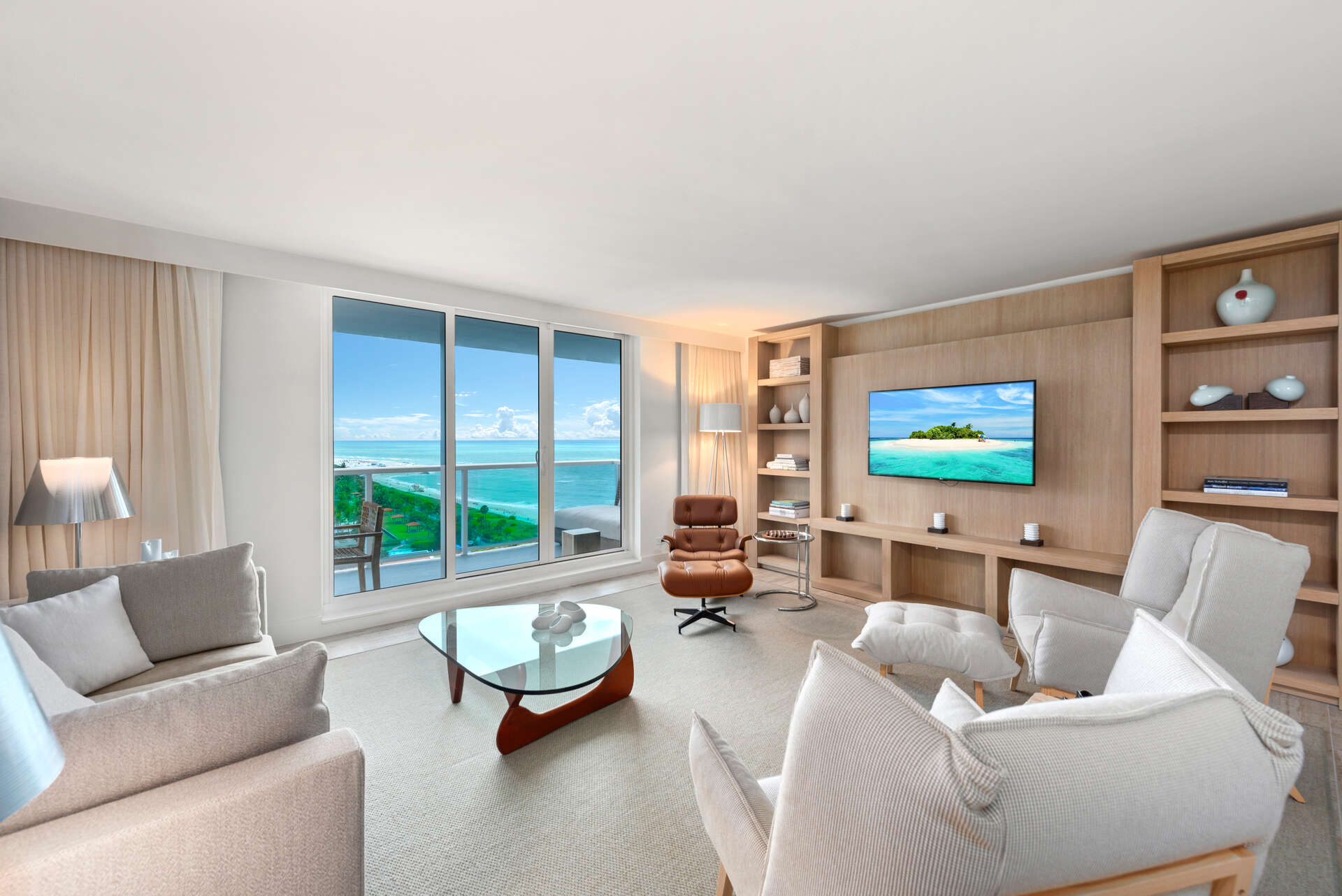 Luxury vacation rentals usa - Florida - Miami beach - Eco hotel southbeach - #1219 | 3 BDM Oceanfront - Image 1/17