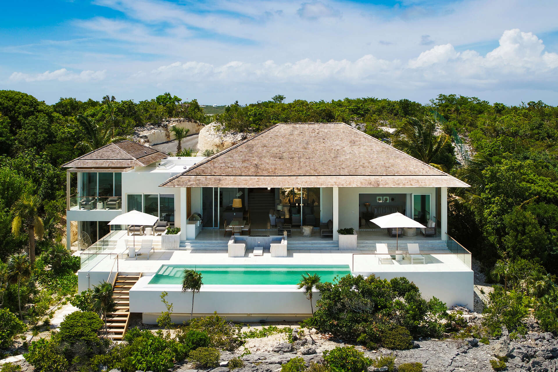 Luxury villa rentals caribbean - Turks and caicos - Providenciales - Turtle tail - Bristol Bliss - Image 1/34