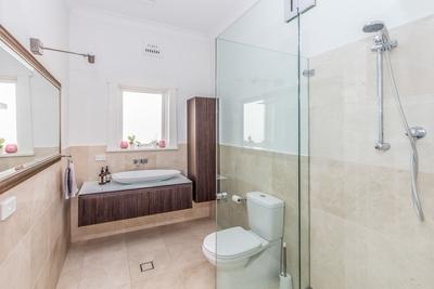 the luxury bathrooms