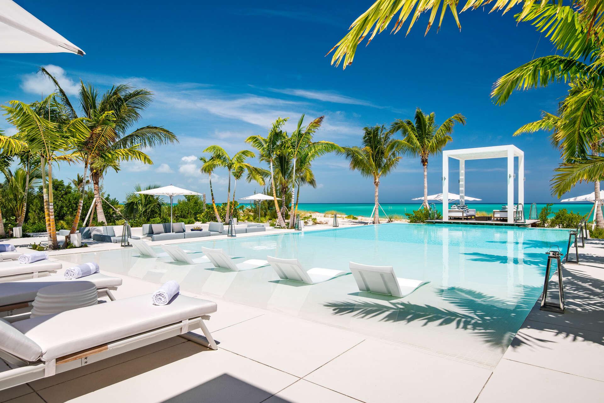 Luxury villa rentals caribbean - Turks and caicos - Providenciales - Leeward - Emerald Pavilion - Image 1/33