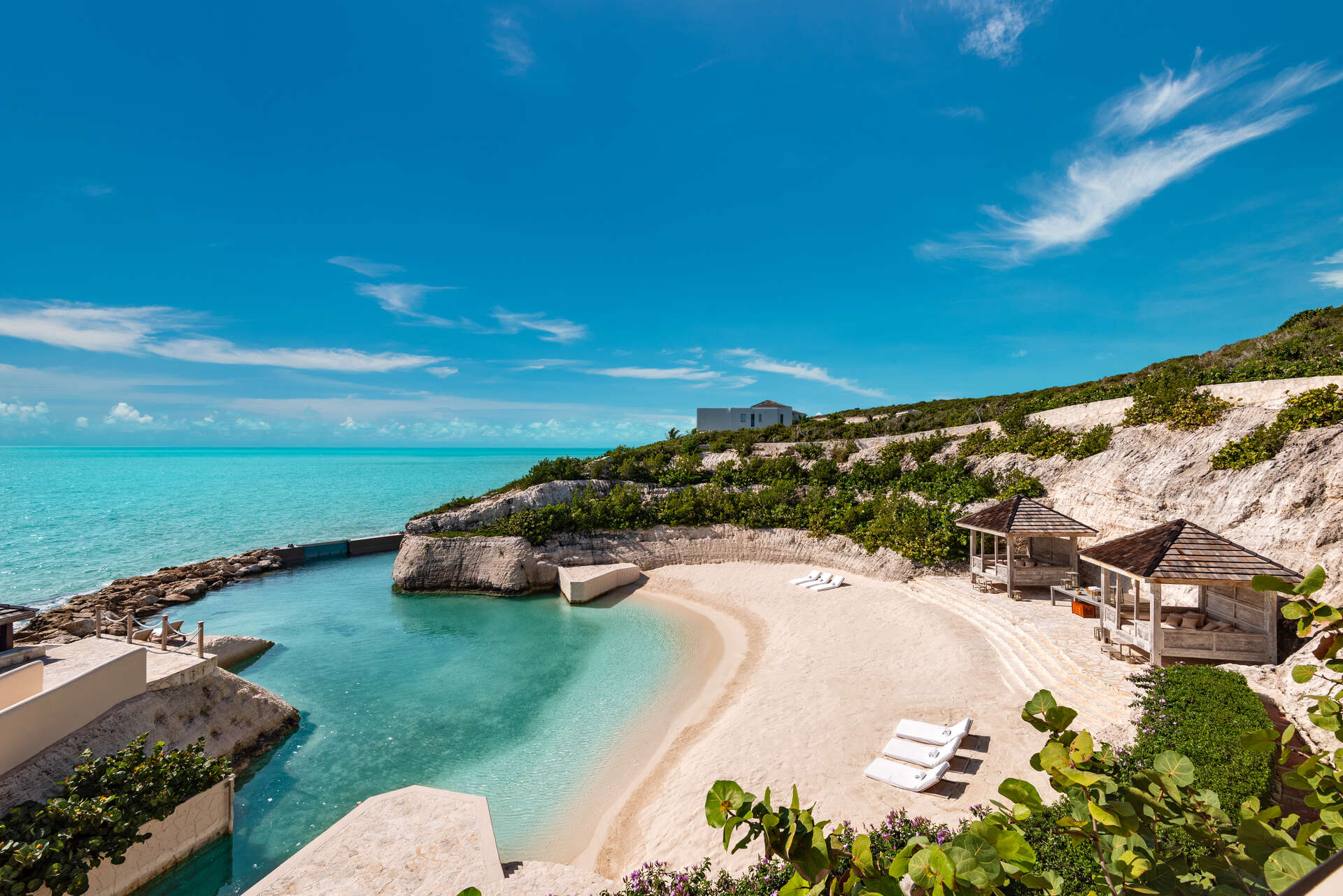Luxury villa rentals caribbean - Turks and caicos - Providenciales - Turtle tail - Bajacu - Image 1/31