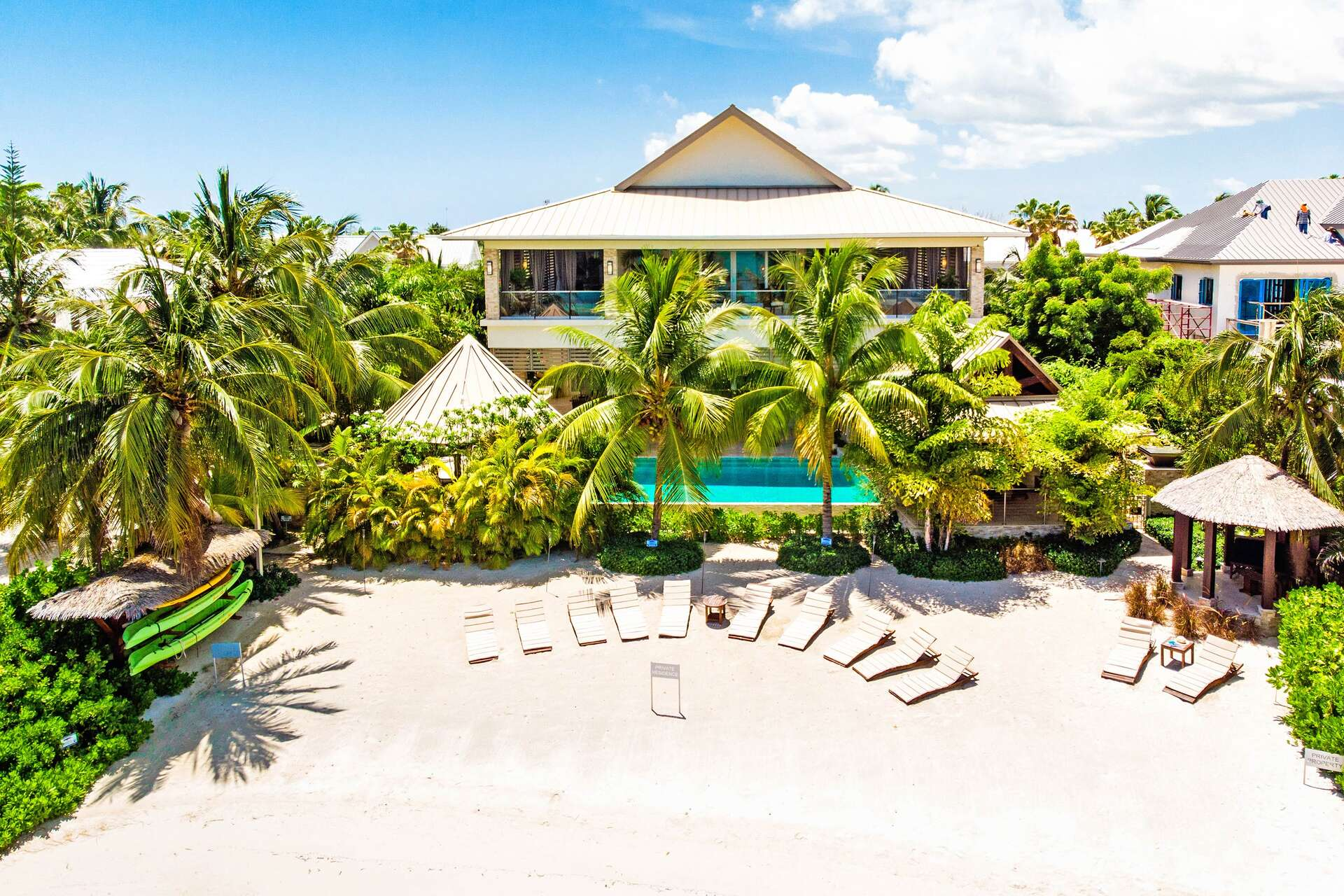 Luxury villa rentals caribbean - Cayman islands - Grand cayman - Rum point - Paradis Sur Mer - Image 1/51