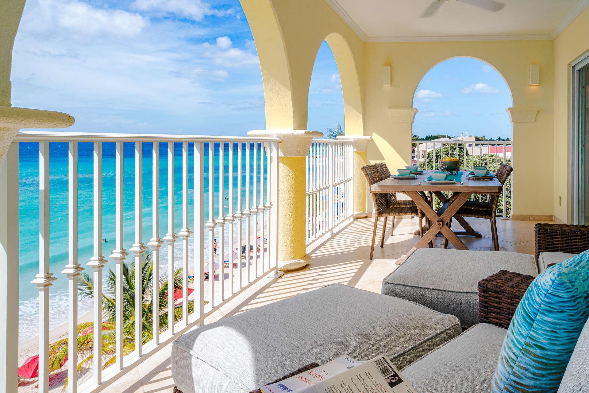 Luxury villa rentals caribbean - Barbados - Christ church - Sapphire beach condos - Sapphire Beach 401 - Image 1/10