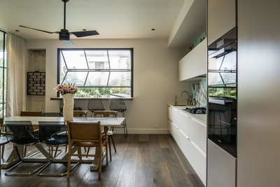 the fully equipped & modern kitchen