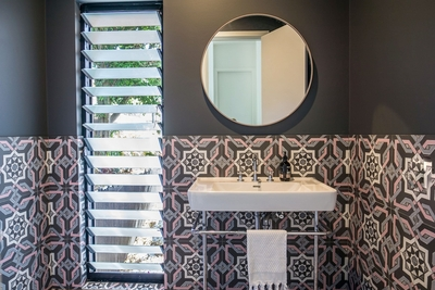 the luxurious feature of the bathrooms