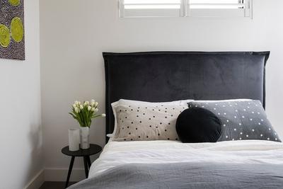 tastefully furnished bedroom