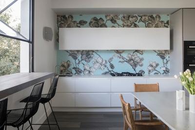beautiful tiles in kitchen